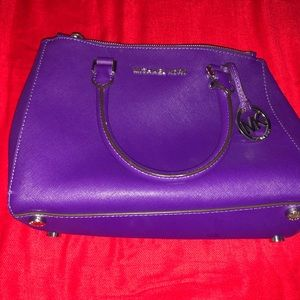 Purple Michael Kors Crossbody